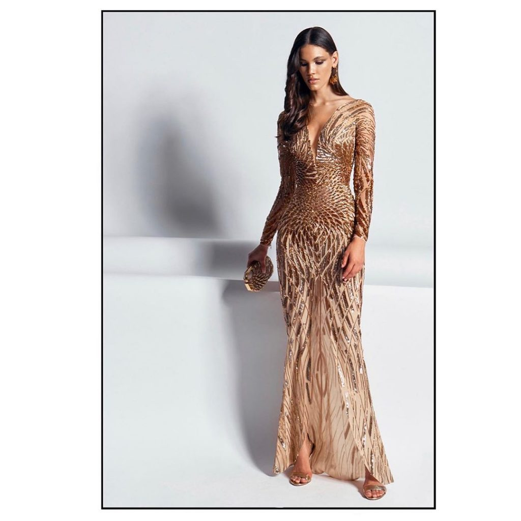 robe longue Zuhair Murad tendance 2020 modele 2