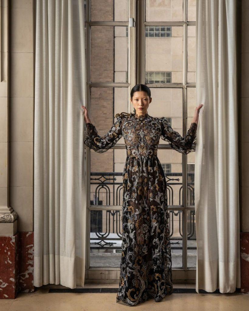 Robes Libanaises tendance 2020 : robe longue reem acra tendance 2020