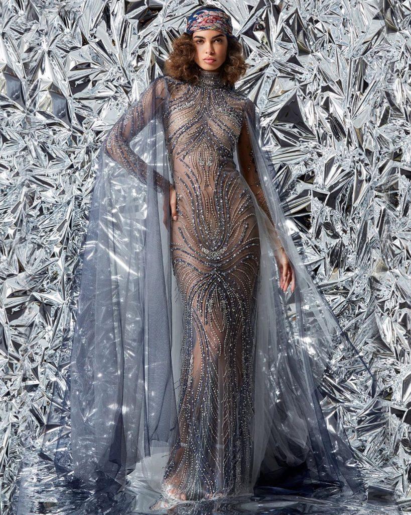 robe de soirée libanaise par Reem Acra Tendance de la saison
