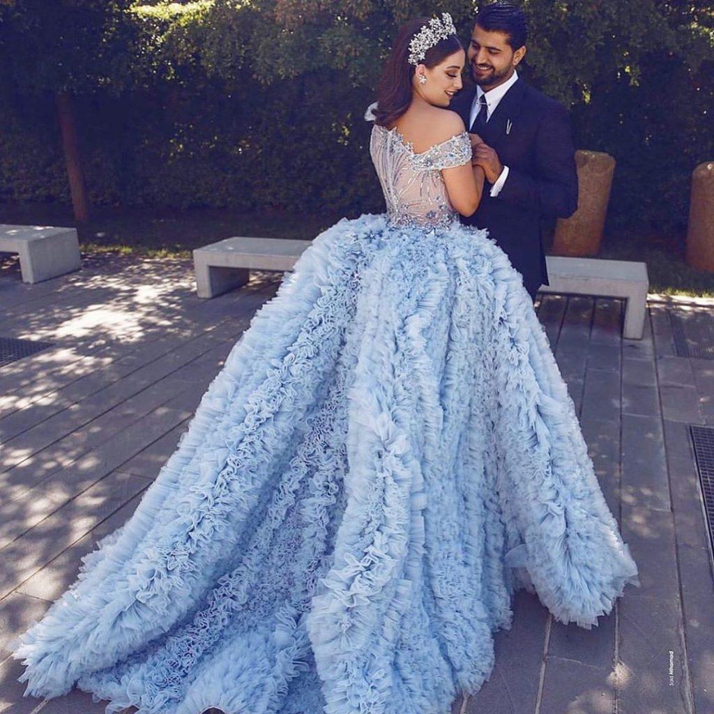 robe mariée libanaise - Moe Shour