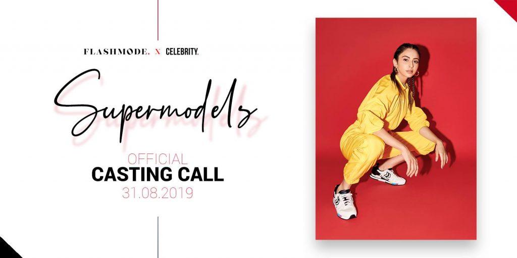 affiche casting Supermodels : Mannequins et modeles