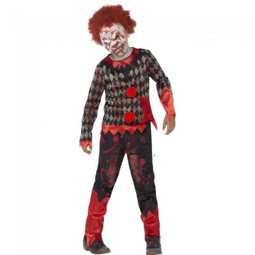 Déguisement Enfant Luxe Clown Zombie