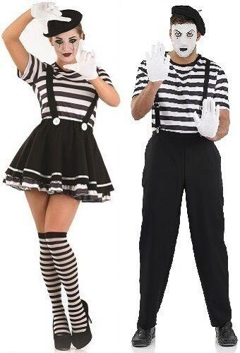 Déguisement Mime Cirque Halloween