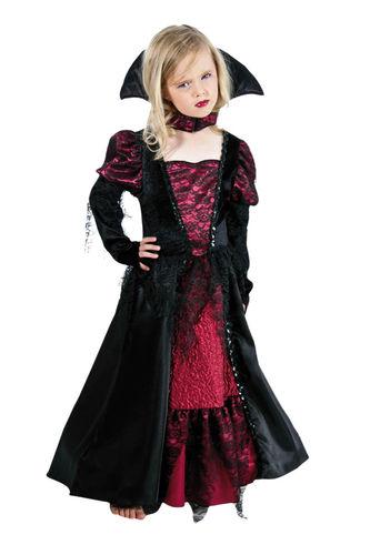 Déguisement de princesse des ténèbres Halloween enfant