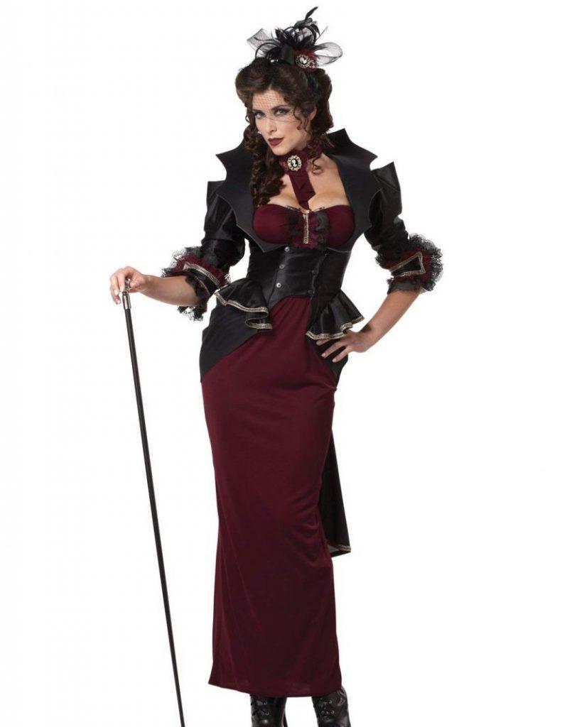 Déguisement vampire gothique d'Halloween4