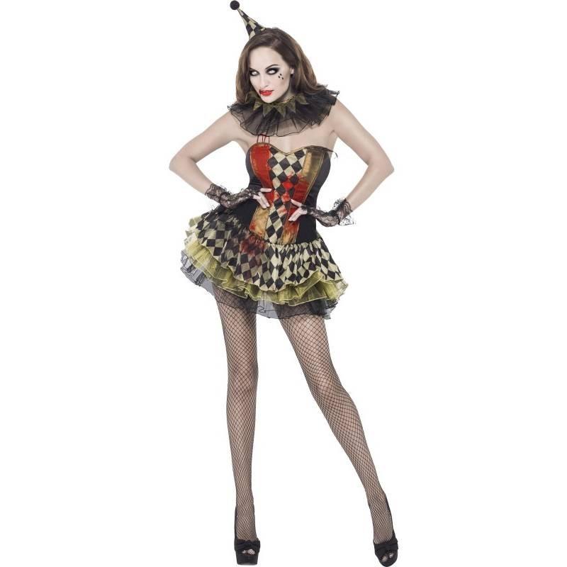 Deguisement Femme Zombie-Clown