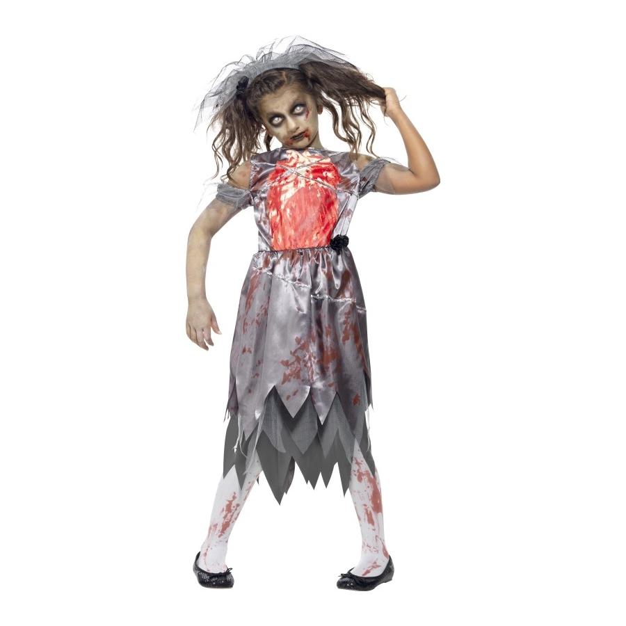 Deguisement halloween mariee enfant