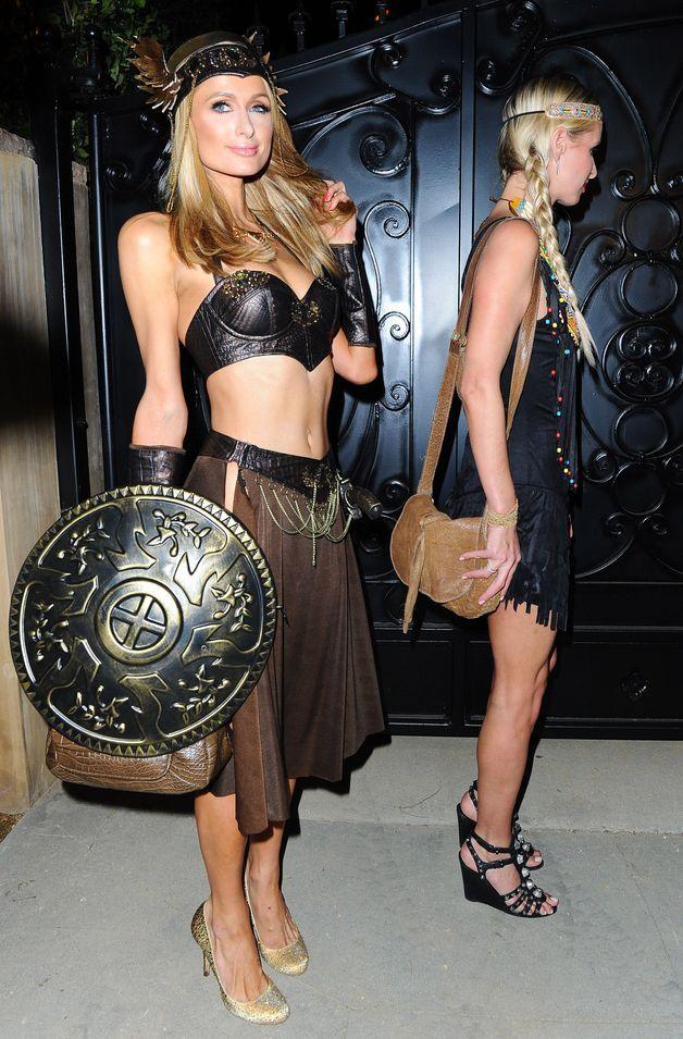 On peut toujours compter sur Paris Hilton pour la touche sexy à Halloween