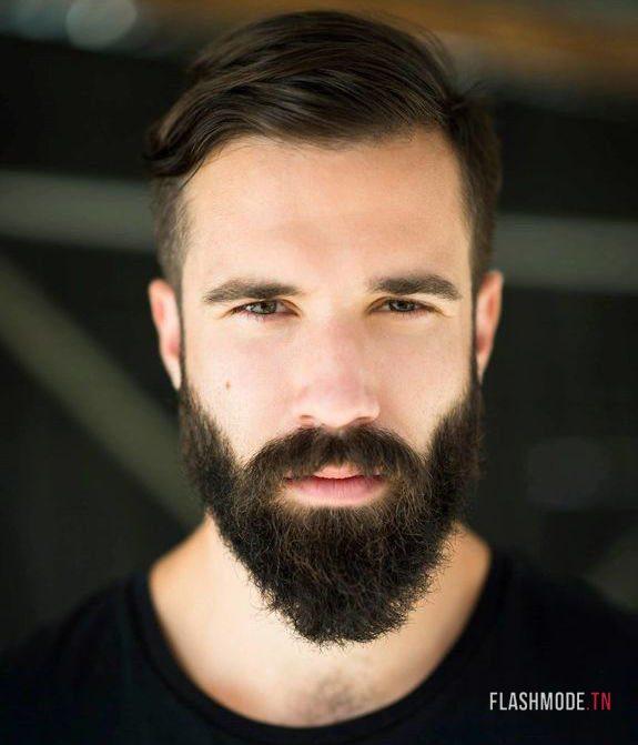 Barbe longue avec cheveux court