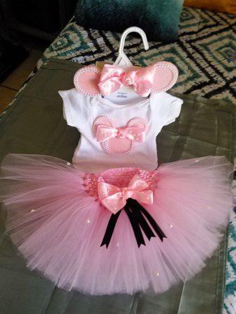 tutu pour filles roses