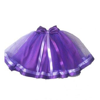 tutu violet pour filles