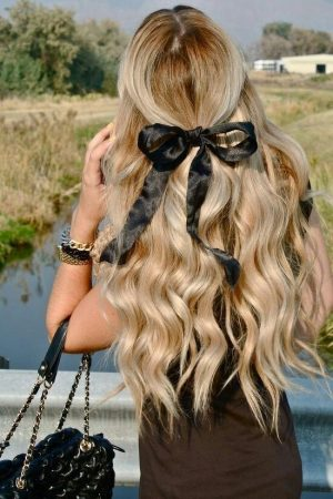 boucles vagues coiffures coiffures