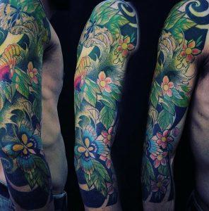 Japonais tatouages avant-bras hommes