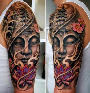 temple japonais de tatouage