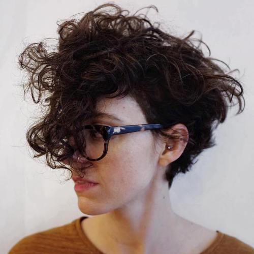 cheveux ondulés de fée
