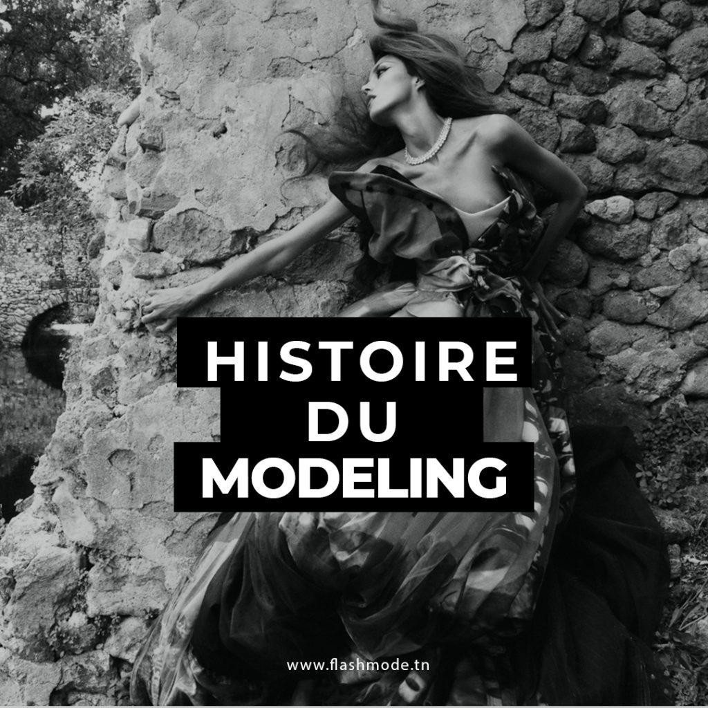 Histoire du Mannequinat & Modeling