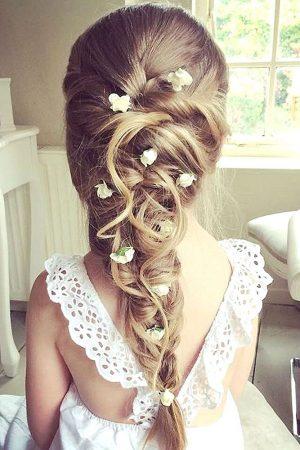 coiffures de mariage filles