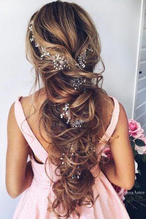 coiffure de mariage updo chongo chongo