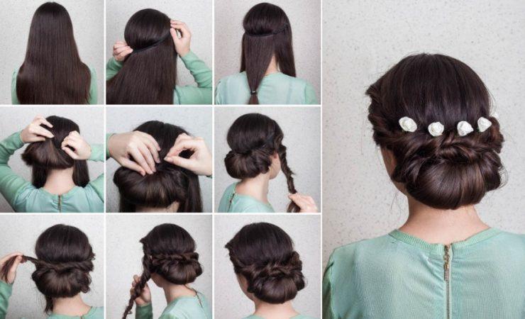 coiffures de mariage étapes étapes impulseur