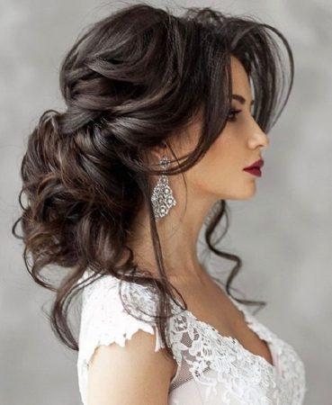 coiffures de mariage élégantes et volumineuses