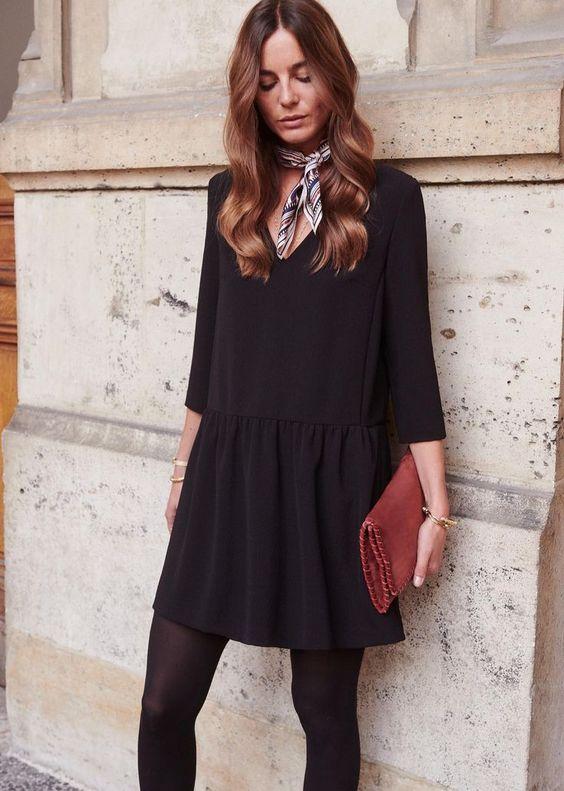 La fameuse robe noire