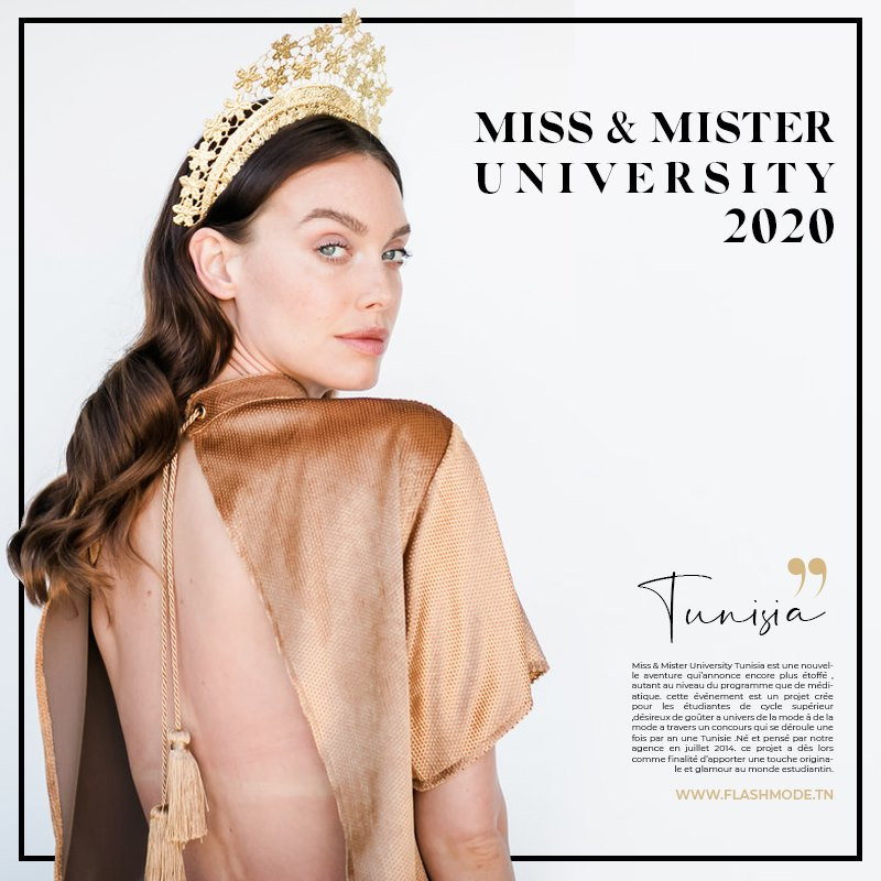 Casting Miss and Mister University 2020