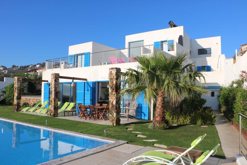Maison couleur Méditerranée