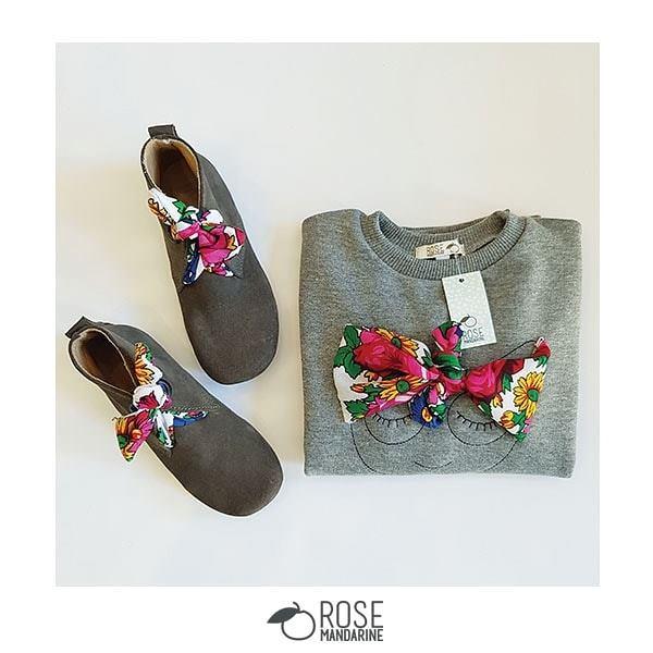 Boots et sweatshirts mama