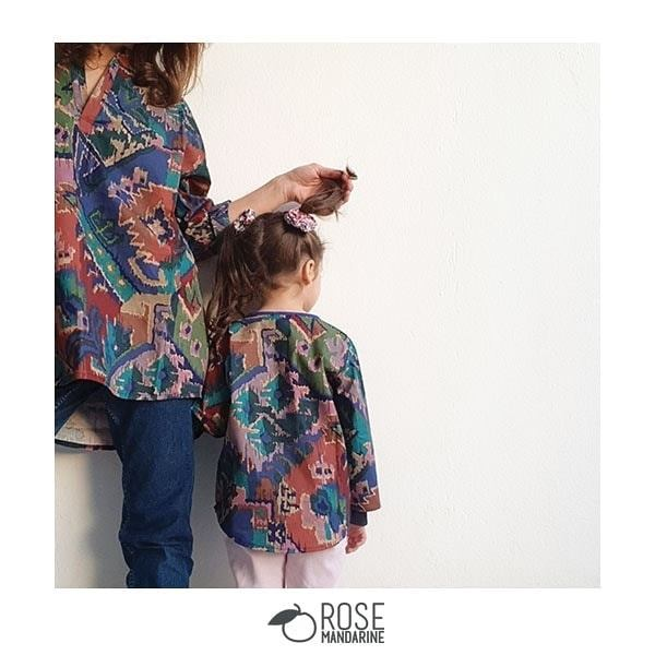 Les tuniques Zaafira de Rose Mandarine