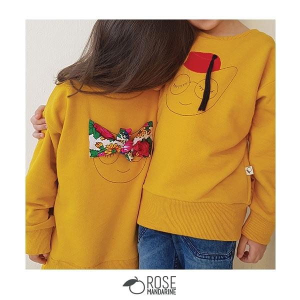 Sweatshirts classiques de Rose Mandarine
