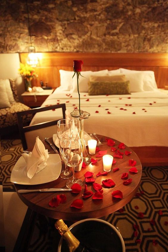 Une nuit romantique parfaite !