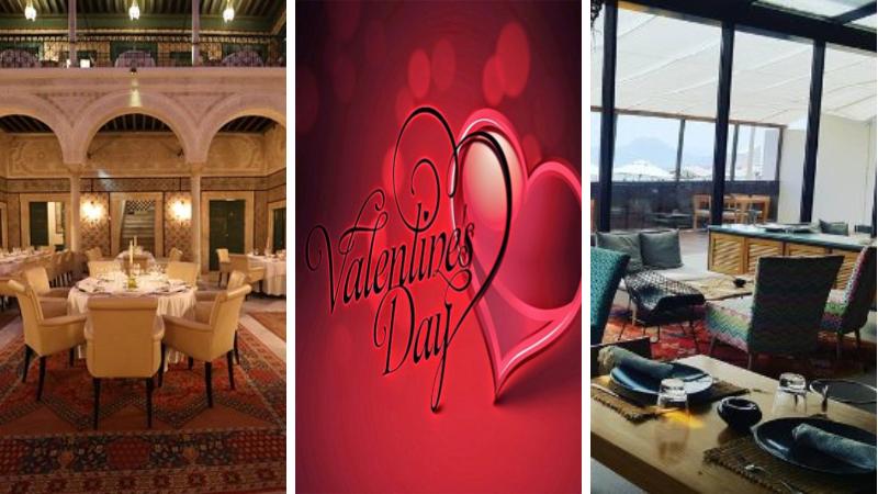 restaurants Tunisie pour fêter la st valentin