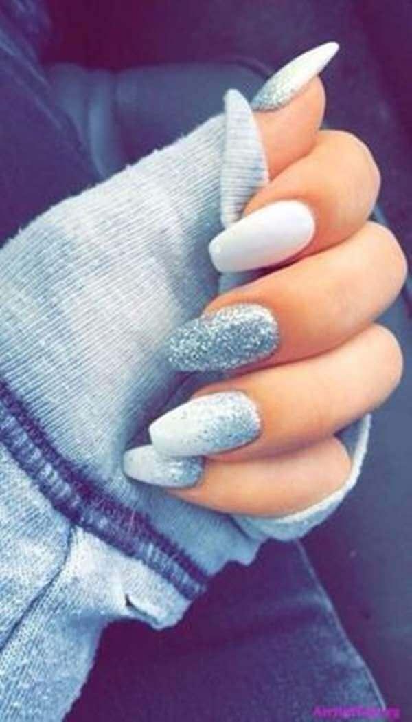 Art des ongles glacés créatifs