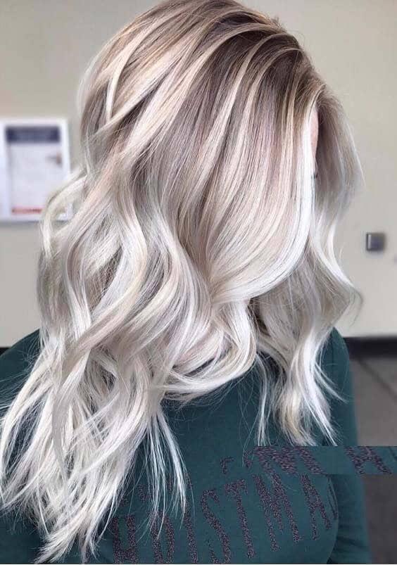 Les points forts de la cendre blonde platine