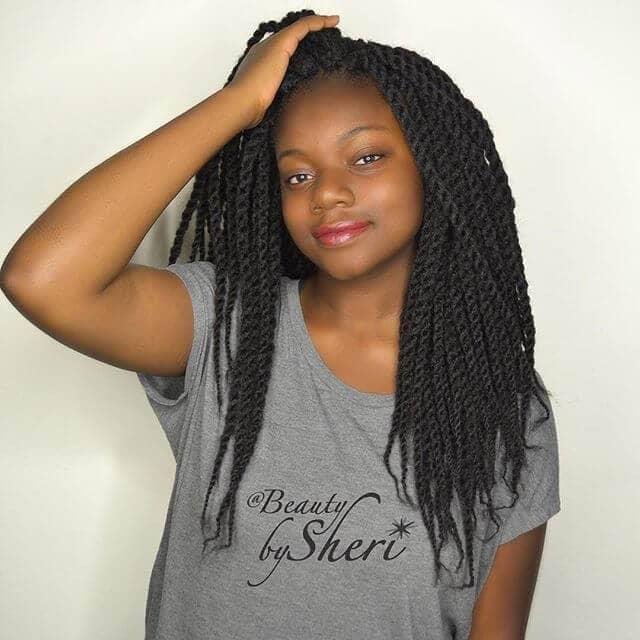 Les torsades sénégalaises avec les cheveux de Marley