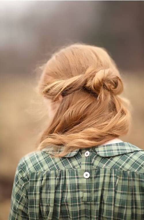 Couleur naturelle blonde fraise