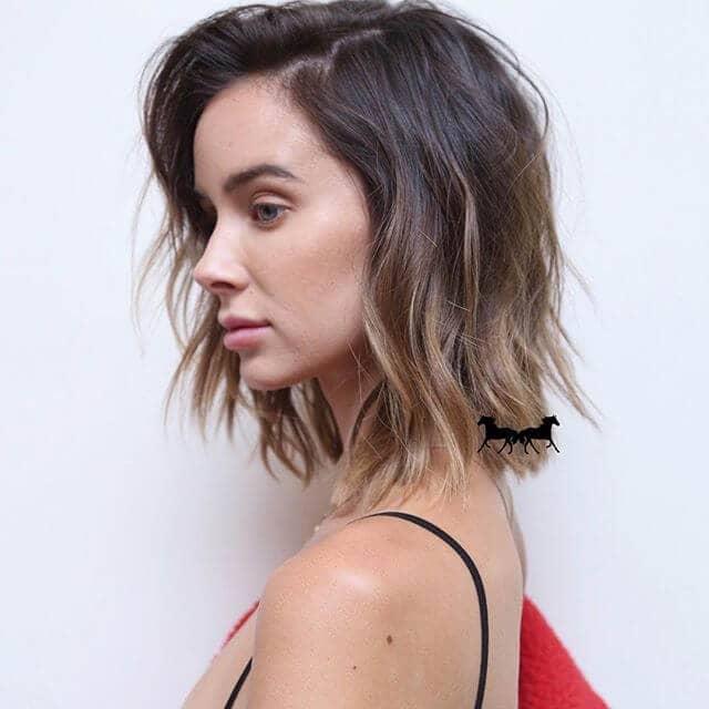 Une coupe de cheveux simple et moderne pour les femmes occupées