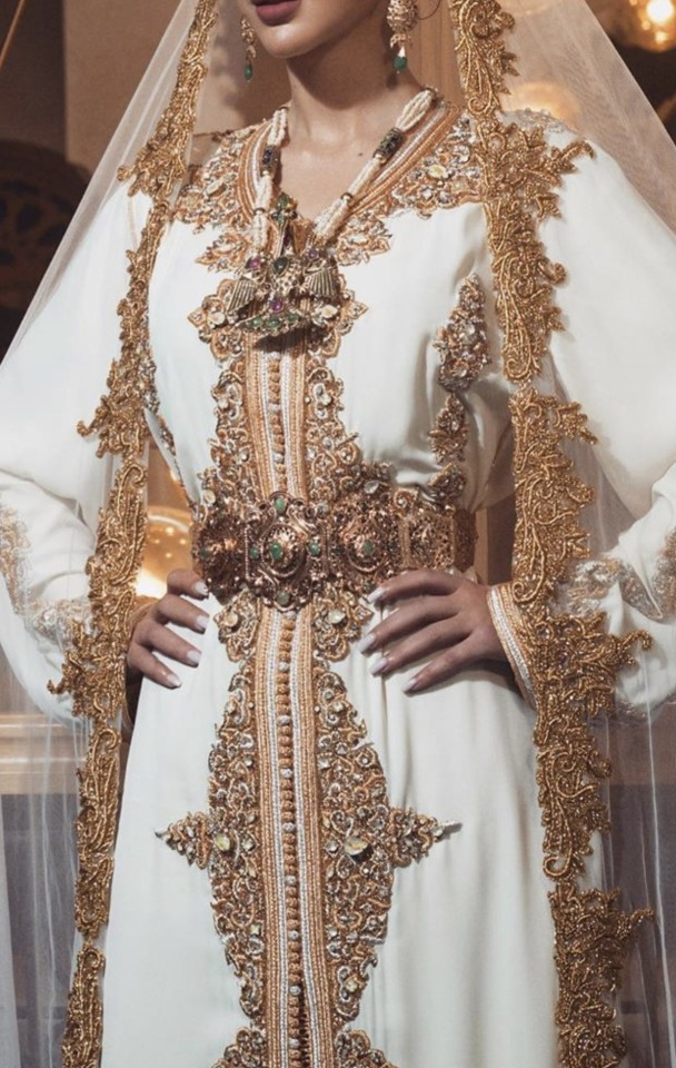 Caftan haute couture Marocain tendance 2020