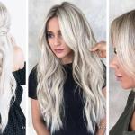 Coloration Cheveux : 49 Nuances blond Cendré Tendances de la nouvelle Saison