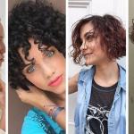 Coupe courte : 53 idées de Cheveux Courts Bouclés pour intensifier votre style en 2020