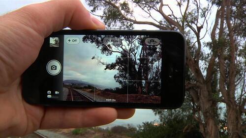 lignes de quadrillage pour équilibrer les prises photos