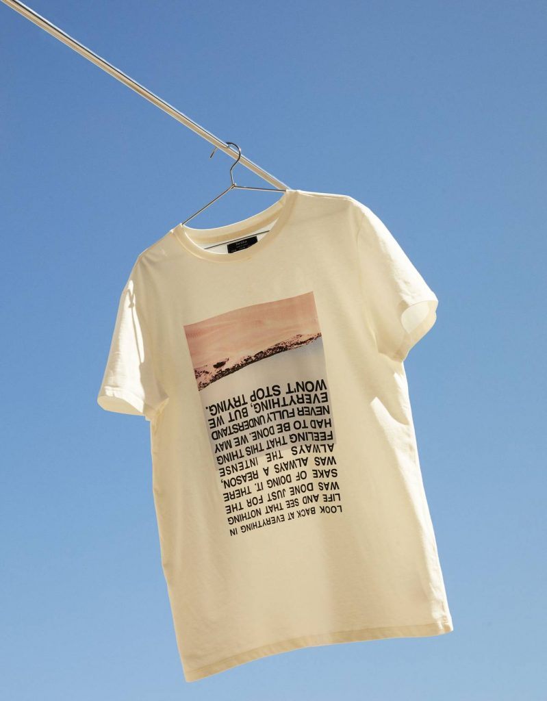T-shirt avec impression tendance 2020