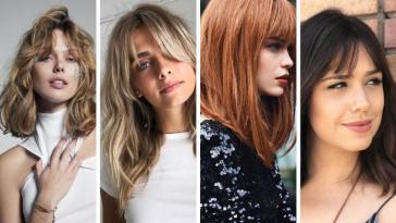 Tendance Coiffure : 27 des plus belles coupes mi-longues femme 2020