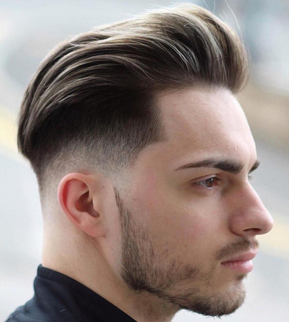 Meilleure coupe de cheveux dégradée homme tendance 2020-2021