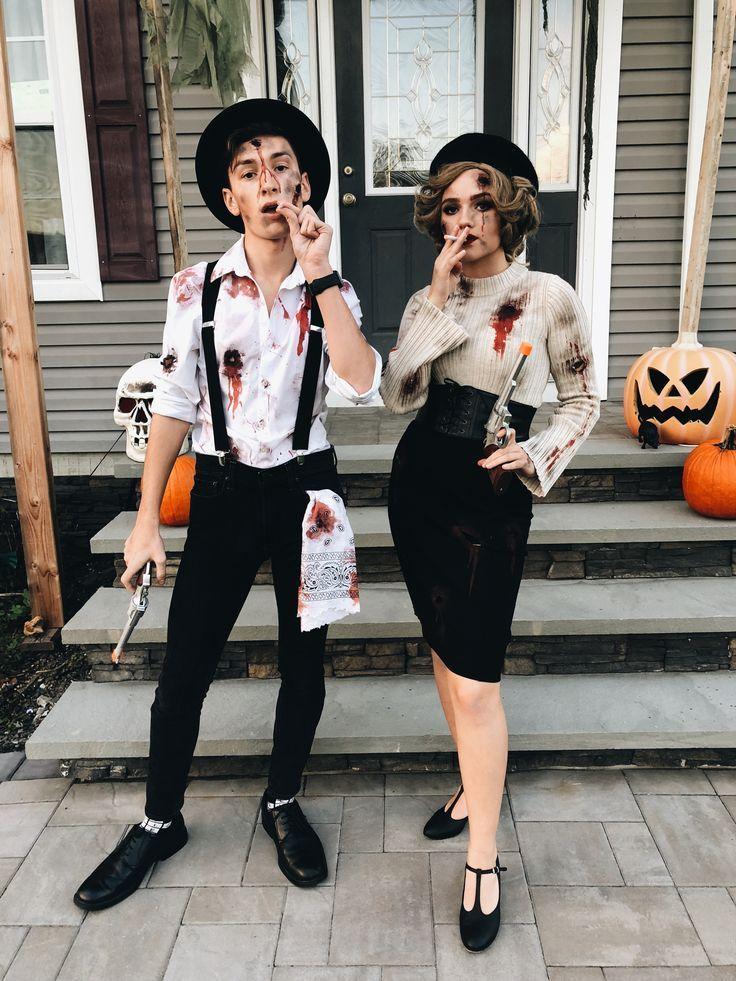 Déguisement Halloween facile pour couple tendance 2020
