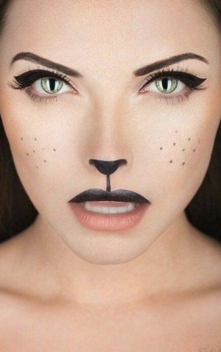Maquillage Halloween chat