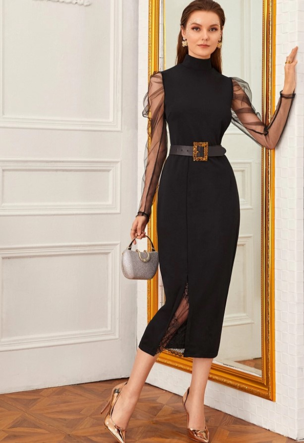 robe soirée noir
