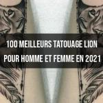 100 meilleurs images de tatouage lion pour homme et femme en 2021