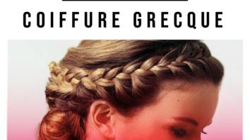 Guide de coiffure grecque