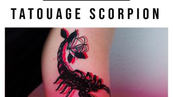 Guide tatouage de scorpion